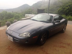 JAGUAR XK8「Before」